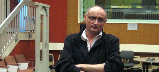Daniel Mesguich en studio, en avril 2006