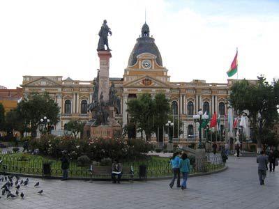 Palais présidentiel à La Paz