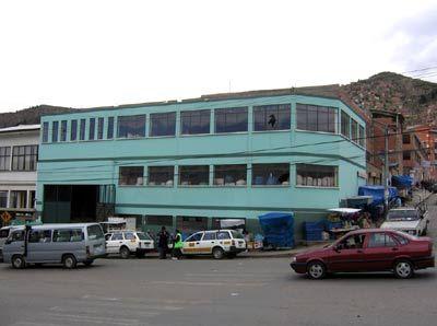 Bâtiment du marché de Villa Fatima