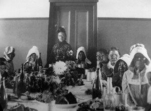 Robben Island - Les femmes malades de la lèpre