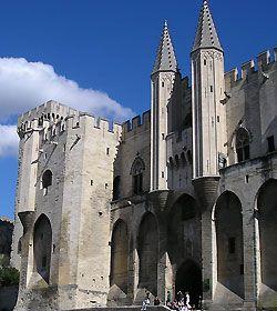 Festival d'Avignon 2007 - Palais des papes