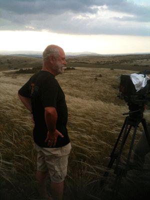 Christian Rouaud sur le tournage de Tous au Larzac !