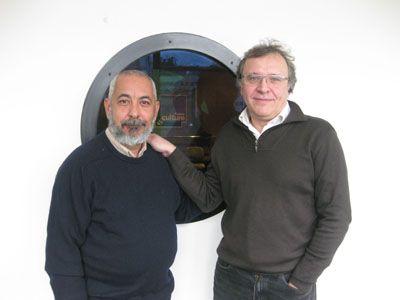 Leonardo Padura et René Solis