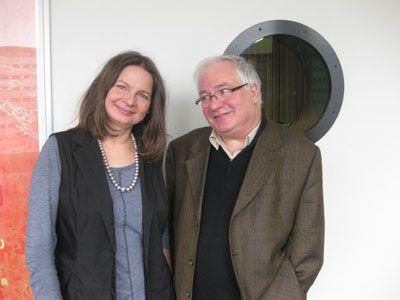 Agata Tuszynska et Jean-Yves Potel