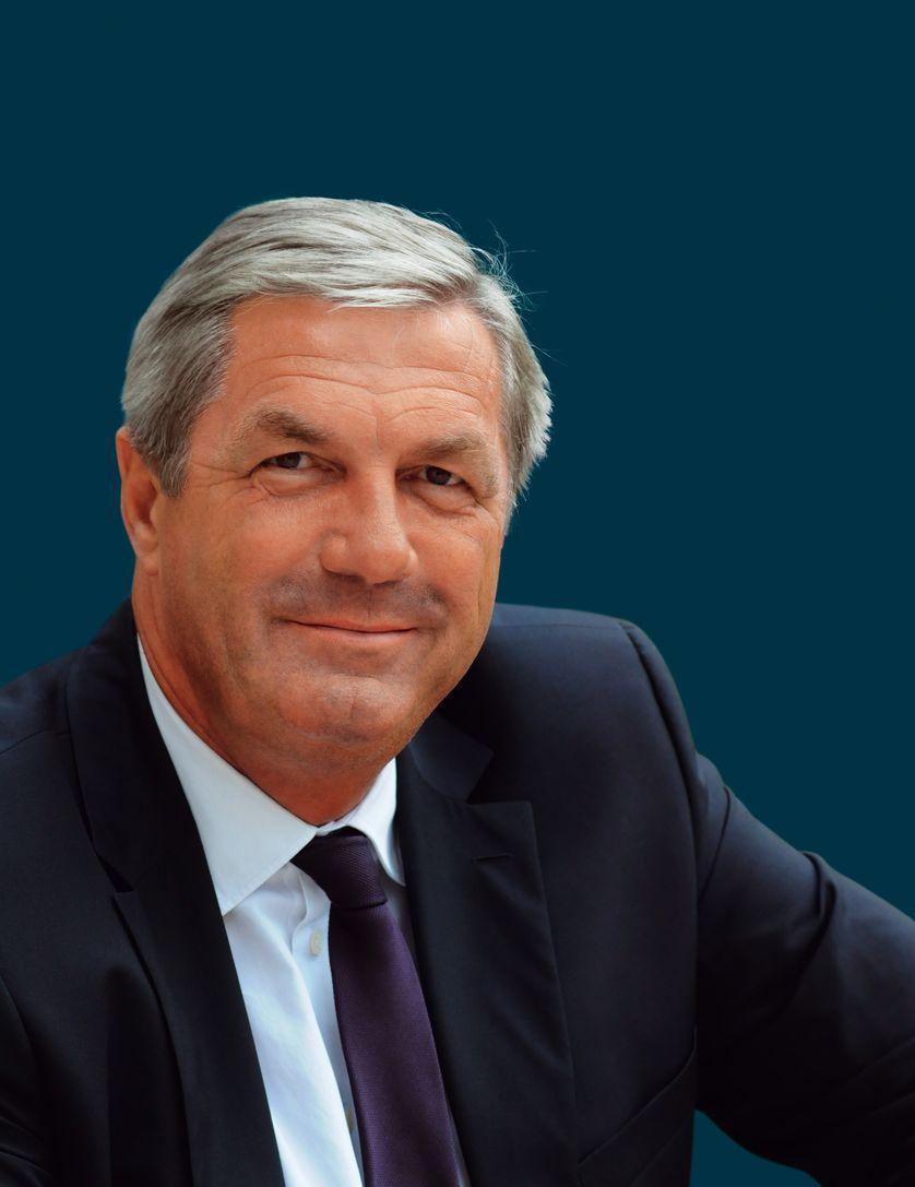 François Sauvadet, député de Côte-d'Or, Président du groupe du Nouveau Centre à l'Assemblée nationale