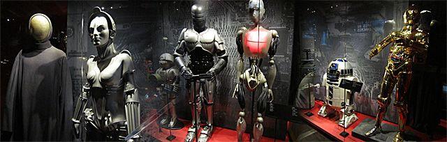 Galerie des robots.
