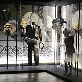 Galerie des extra-terrestres.