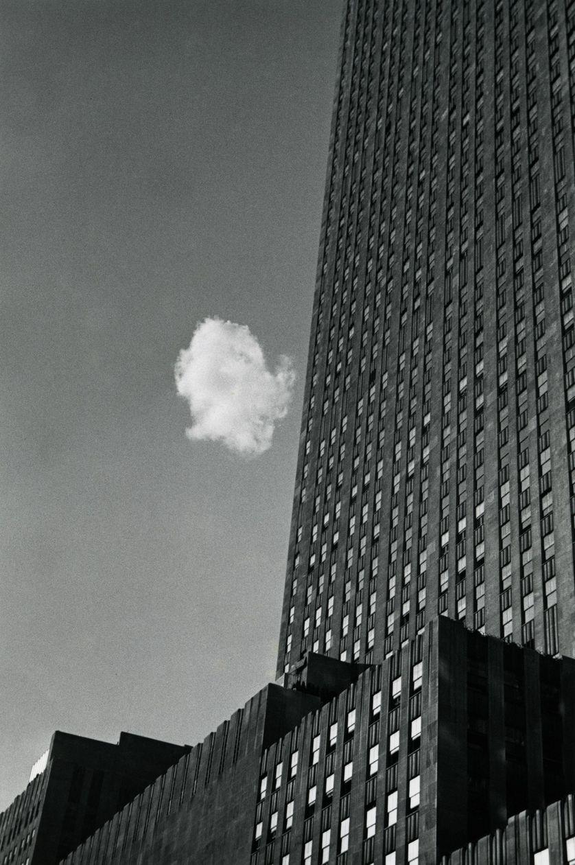 André Kertesz Le nuage égaré  New York 1937