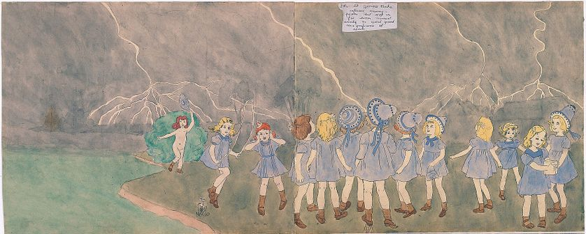 Henry Darger 20 At Jennie Richee