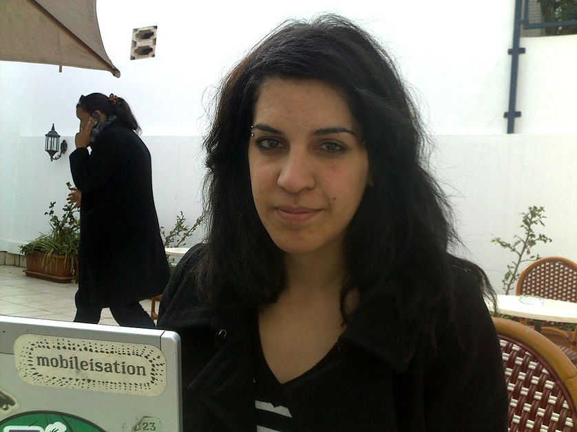 Lina, 27 ans, blogueuse tunisienne. 20 janvier 2011