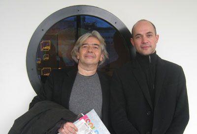 Hervé di Rosa et Stéphane Pencréac'h