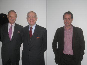 Betrand Puech, Patrick Thomas et Pierre-Alexis Dumas