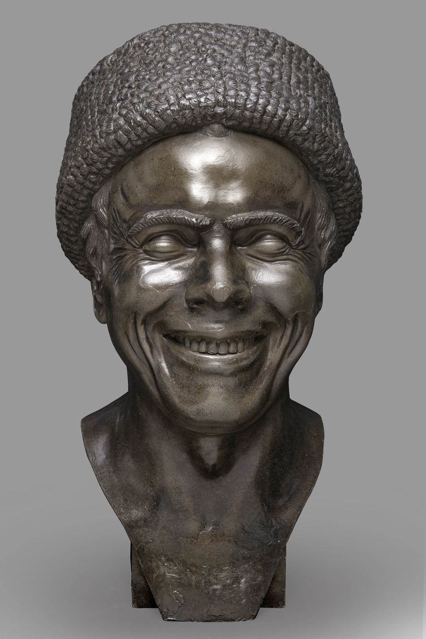 L'Artiste tel qu'il s'est imaginé en train de rire