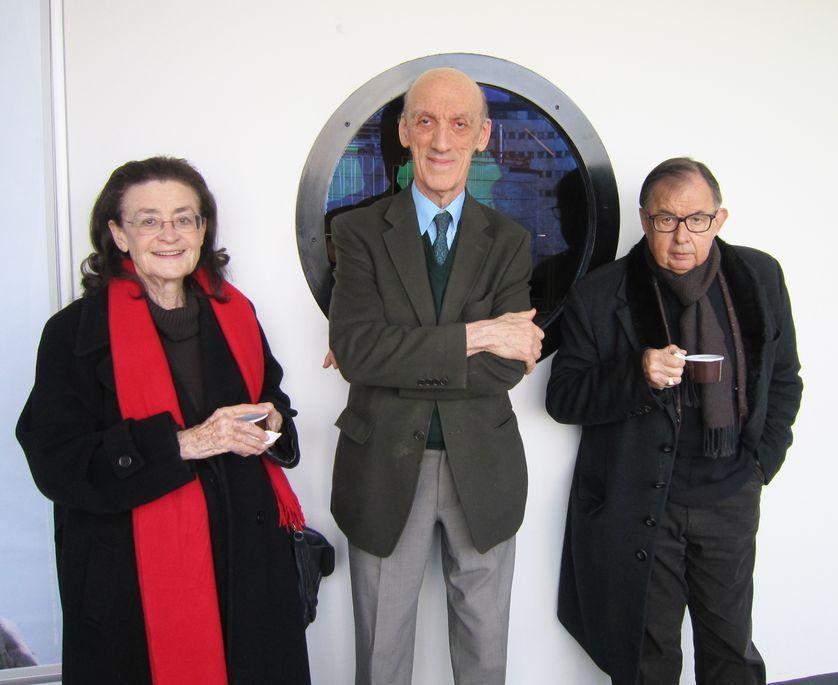 Nina Companeez, Jean-Yves Tadié et Jean-Didier Vincent