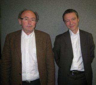 Dominique Wolton et Stéphane Rozès