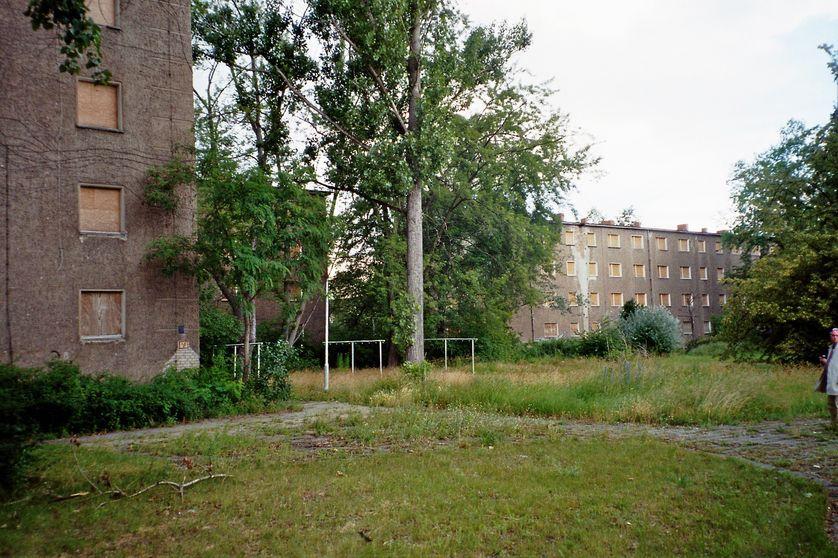 Eisenhüttenstadt : un ensemble de logements vacants voué à la démolition