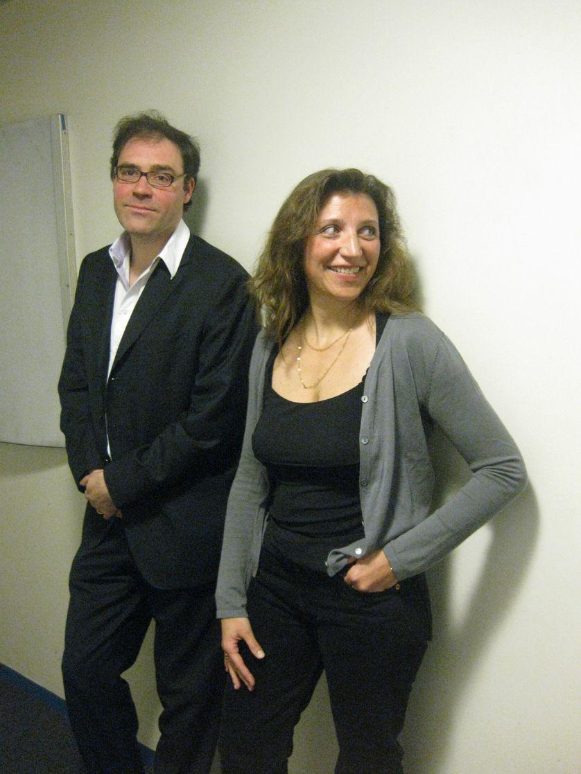 Pascal Chabot et Ninon Grangé