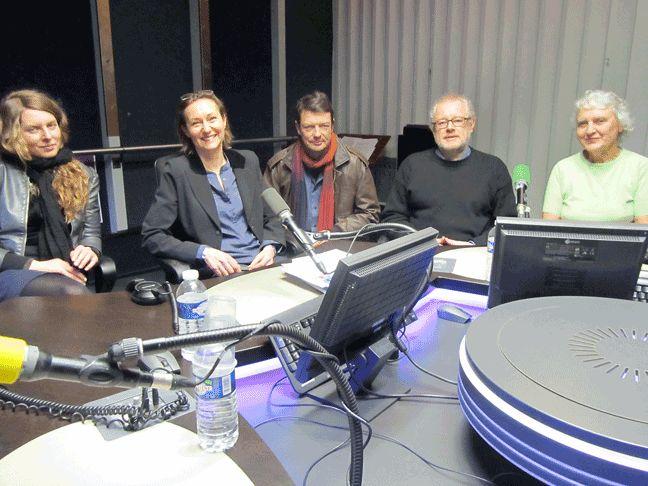 Anne Kawala, Aurélie Luneau, Jean-Michel Lebert, Michel Blay, Nicole Hulin