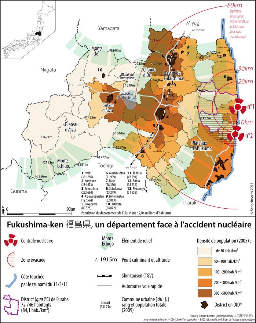 Fukushima-ken, un département face à l'accident nucléaire