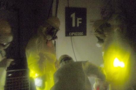 Fukushima: Employés travaillant dans la centrale