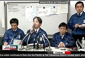 Fukushima: Annonce rejet en mer