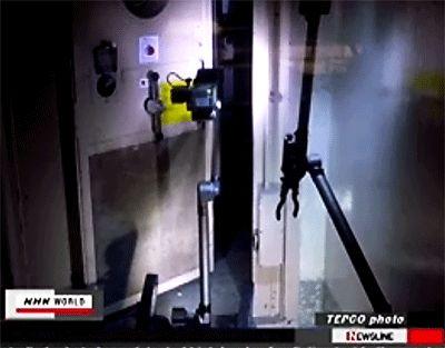 Fukushima: L'entrée des robots dans le réacteur n°3