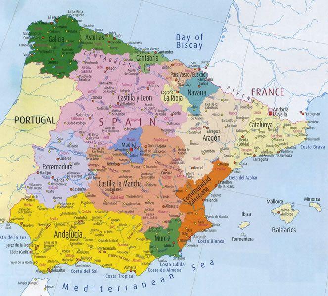 Espagne - provinces