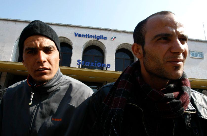Migrants tunisien à Vintimille
