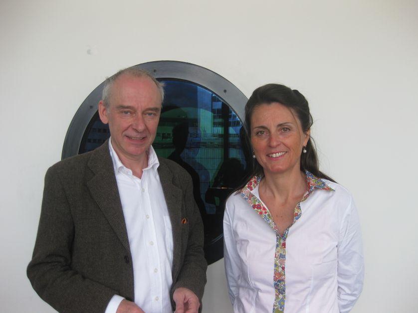 Philippe Cabestan et Hélène Maurel-Indart