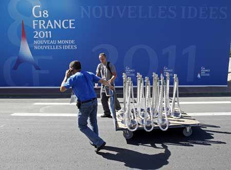 Le sommet du G8 à Deauville
