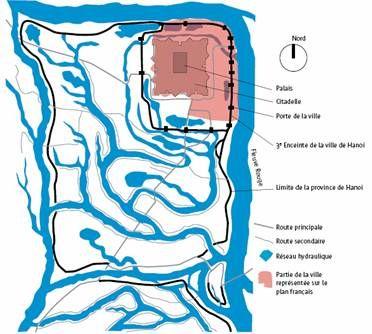 Le plan colonial de la même période
