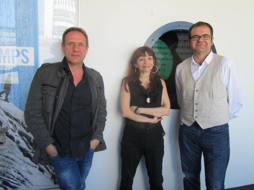 Jean-Clet Martin, Gisèle Berkman et Etienne Barillier