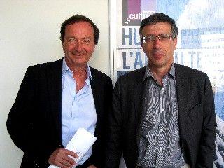 Edouard-Michel Leclerc et Guillaume Duval