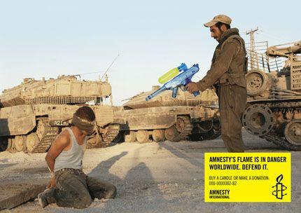 Amnesty International - la guerre n'est pas un jeu