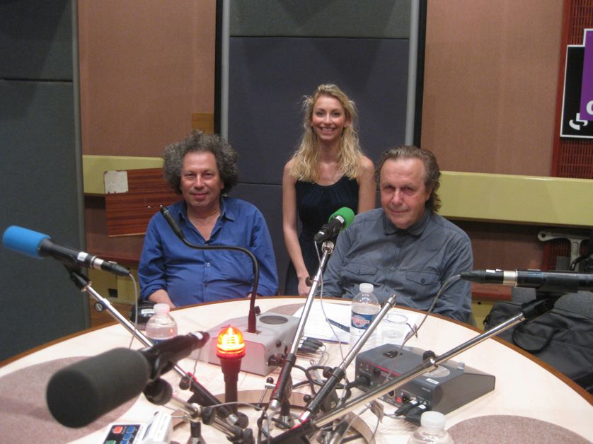 Ami Flammer, Agnès Olier et Jean-Christophe Bailly