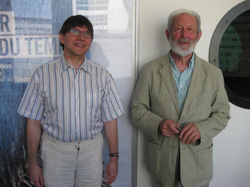 Philippe Chardin et Jean-Louis Backès