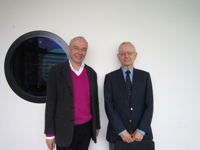 Philippe Cabestan et Michael Edwards