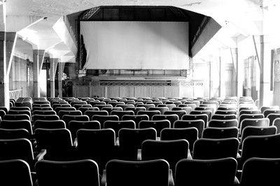 La salle de cinéma.