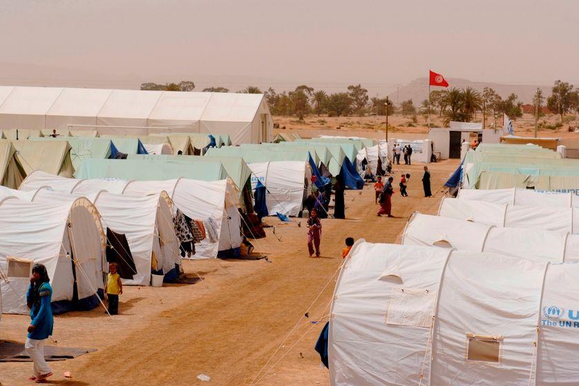 Camp de réfugiés libyens de Remada