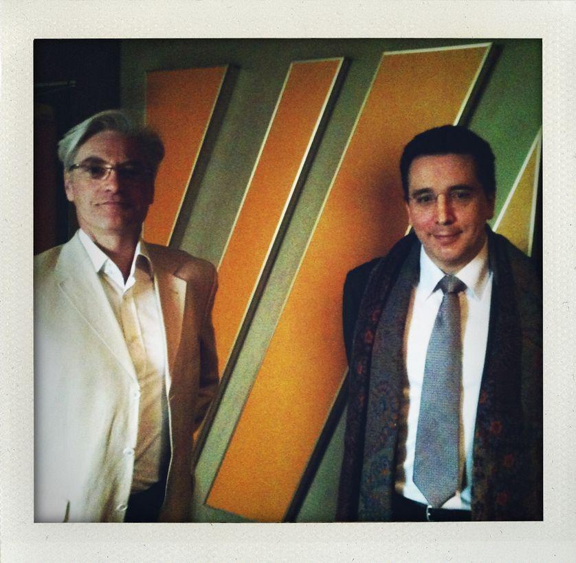 Bertrand de La Chapelle et Marc Benhamou