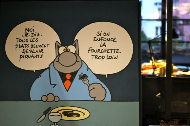 Le chat de Philippe geluck