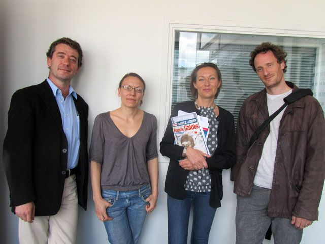 Norbert Verdier, Caroline Ehrhardt, Aurélie Luneau, Emmanuel Lemire