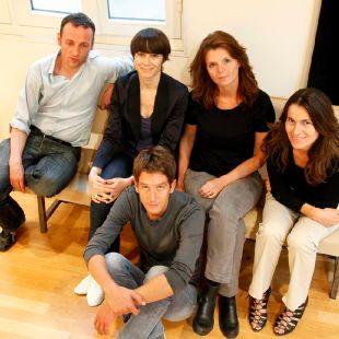 F Bégaudeau, J Sorman, M de Kerangal, A Filippeti, A Cathrine
