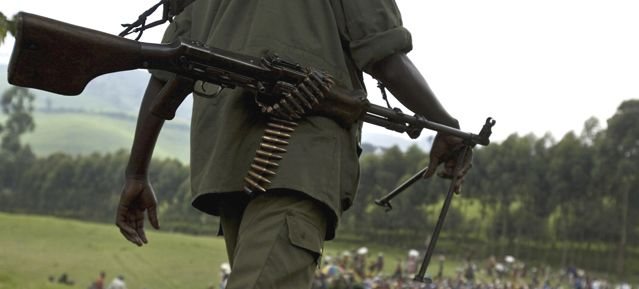 Soldat - Rwanda