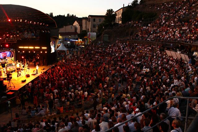BD Jazz à Vienne 2010 - Théâtre antique