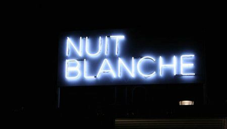Atelier nuit blanche
