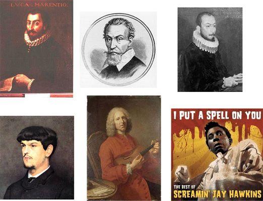 Mosaïque de compositeurs