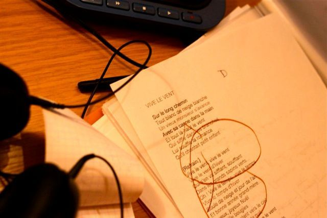 Partition Vive le vent / Florent Marchet