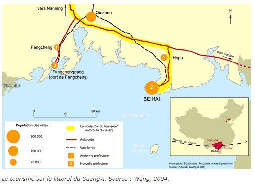 Le tourisme sur le littoral du Guangxi