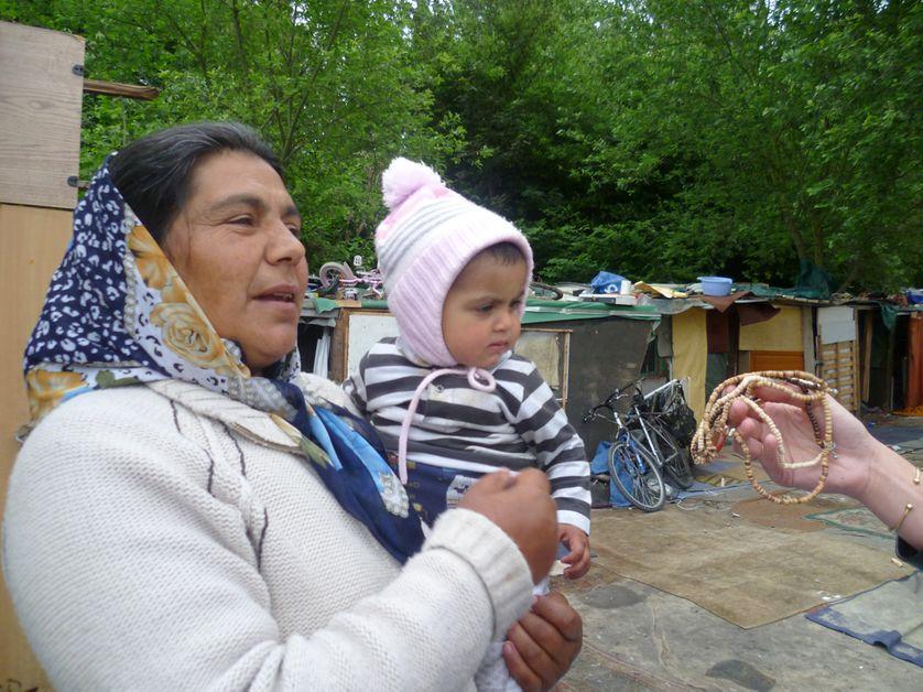 Maria dont la fille Alexandra vient d'entrer en maternelle.